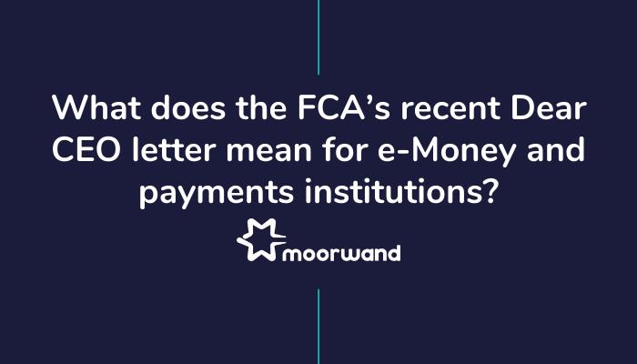 FCA's recent Dear CEO letter