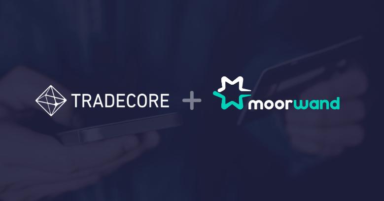 Moorwand and Tradecore logos