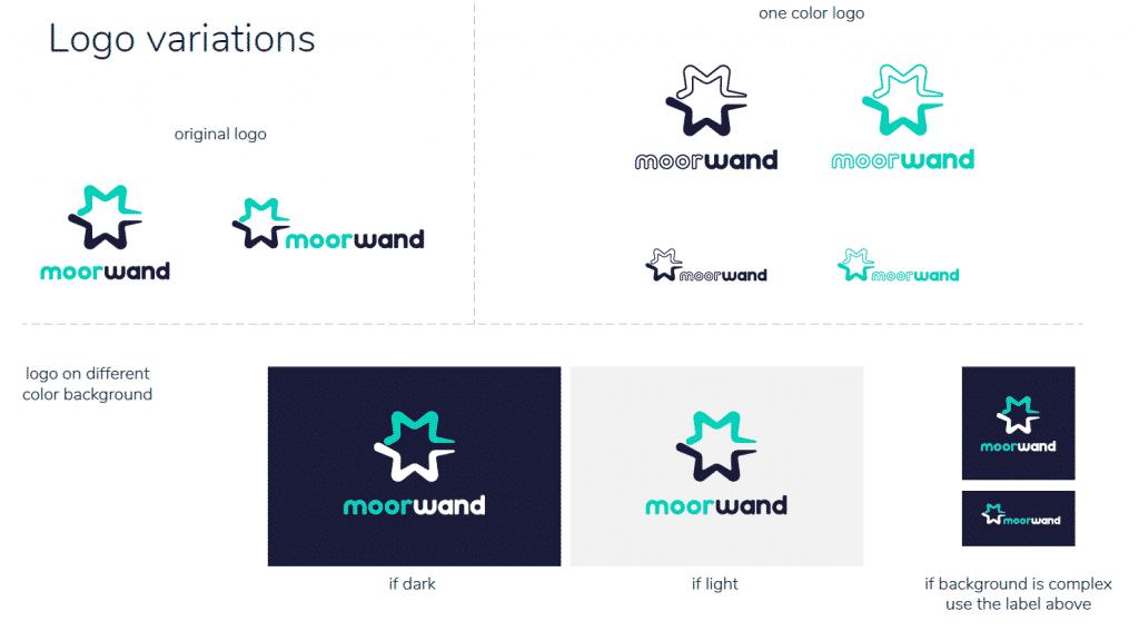 Moorwand Logo Variations