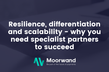 Resilience, differentiation and scalability – why you need specialists