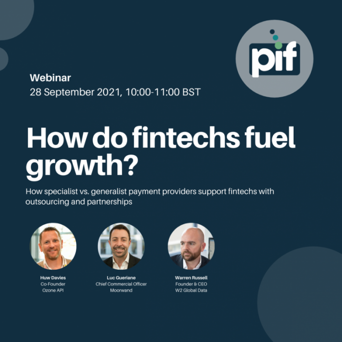 PIF and Moorwand Webinar promotion